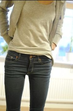 The elusive thigh gap!  Unattainable, perhaps.  Worth trying to achieve, abso-freakin-lutely!