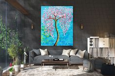 Large Abstract Painting,Modern abstract painting,square painting,home decor wall art,xl abstract pai Modern Oil Painting, Large Painting, Texture Painting, Oversized Canvas Art, Large Canvas, Colorful Wall Art, Artwork Display, Abstract Wall Art, Home Decor Wall Art