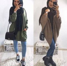 Latest casual winter tops for girls Latest casual winter tops for girls – Just Trendy Girls Casual Chic Outfits, Girly Outfits, Modest Outfits, Modest Fashion, Hijab Fashion, Girl Fashion, Fashion Outfits, Fashion Check, Hijab Outfit