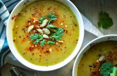 Fall is (unofficially) soup season and this Cozy Sweet Potato +Leek Soup  one of my favorite thing to curl up with at the end of a long day. Ready in  about 30 minutes, this nutrient-dense (and oh-so delicious) soup will be a  home run with the entire family and is Paleo, Whole30 friendly,  vegan/vegetarian,gluten free, and dairy free to boot!