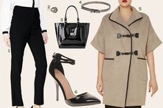 Fall's top fashion trends for big girls and how to adapt the leather, cigarette pants and gothic glamour looks for your size and budget! OMG, so fierce.