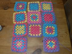 Ravelry: Project Gallery for Granny square 39 pattern by Jean Leinhauser