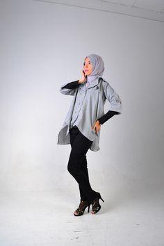 #monochrome #hijab #fashion