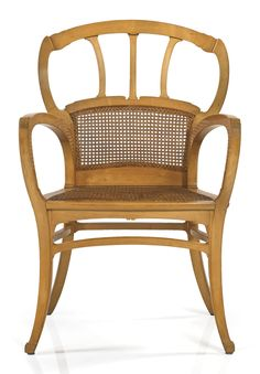 Victor Horta Circa 1901 arm chair is still a great design for a covered porch or sun room. It is so timeless.