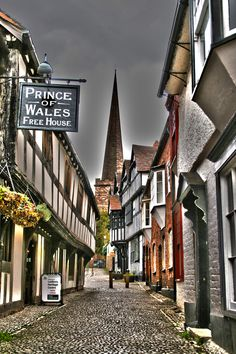 Church Street, Ledbury, Herefordshire, UK