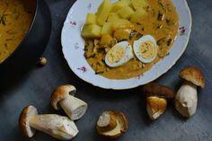 Houbová omáčka. Snadná a skvělá podzimní pochoutka. – Bohyně kuchyně Pretzel Bites, Hummus, Bread, Czech Republic, Ethnic Recipes, Food, Brot, Essen, Baking