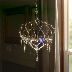 Tethered a Sunshower Chandelier by BellStudios on Etsy