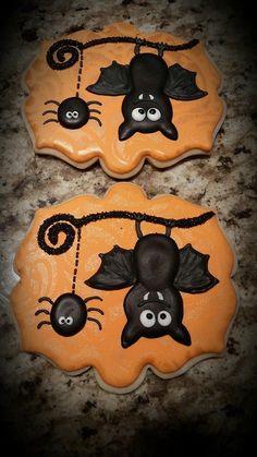 Bat cookies by Stella's Sugar Shack
