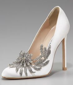 Bella Swan's Wedding Shoes from The Twilight Saga Breaking Dawn Part One I'm Sorry they're ridiculously gorgeous