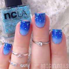 """Feelin like Cinderella absolutely in love with this beautiful glitter topper ""Enchanted City"" by @shopncla✨ it's part of their stunning new ""LA…"""