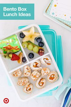 Get ideas for healthy bento box school lunches & snacks, plus get essentials delivered with Same Day Delivery. Baby Food Recipes, Food Network Recipes, Snack Recipes, Cooking Recipes, Lunch Snacks, Easy Snacks, Healthy Snacks, Lunch Meal Prep, Healthy Meal Prep