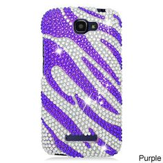 Alcatel OneTouch Fierce 2/7040T Cs Diamond Hot Pink Zebra 302 TPU/PC Phone Case #PH-PDACTL7040TS3