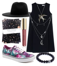 Out There by kayquarter on Polyvore featuring polyvore moda style Jil Sander Vans Charlotte Russe Études Nikki Strange fashion clothing