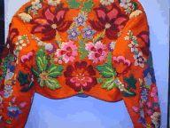 Dala Floda broderad tröja från 1800-talet