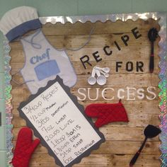 Bulletin Board Recipe for Success