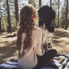 Just look at this awesome braids and this cute pup! Pretty Braided Hairstyles, Cute Hairstyles, Braid Hairstyles, Toddler Hairstyles, School Hairstyles, Hair Day, Your Hair, Hair Inspo, Hair Inspiration