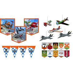 Disney Planes Room Transformation Kit from Birthday Express…hmmm…to make or to buy...