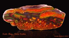 brecciated agate | Brecciated Agate. Fundy Rocks Collection | Rocks | Pinterest