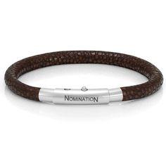 Bracelet en cuir Nomination - Accès Bijoux