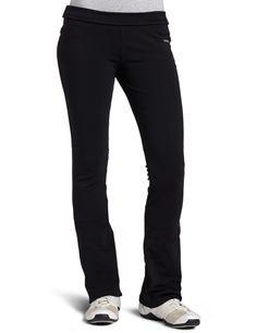 Reebok Women's Easytone Pant (Black, Large)