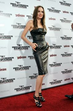 Angelina Jolie at the 'Inglourious Basterds' Premiere in Hollywood Aug 2009