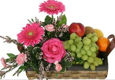 Order flower from the trusted Philippines florist. As a leading online flower shop here we ship flower, gifts all over Philippines. Fruit Flower Basket, Fruit Flowers, Fruits Basket, Diy Flowers, Tropical Wedding Bouquets, Online Flower Shop, Fruit Arrangements, Fruit Displays, Order Flowers