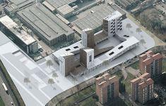 Complesso residenziale cooperativo a Milano est, Milano, 2008 - Demoarchitects