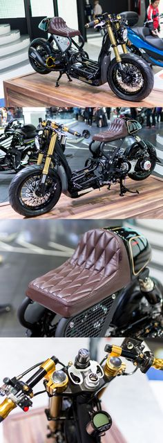New scrambler motorcycle honda motorbikes ideas Honda Motorbikes, Honda Motorcycles, Custom Motorcycles, Custom Bikes, Cars And Motorcycles, Bobber Custom, Scooter Custom, Scrambler Custom, Cafe Racers
