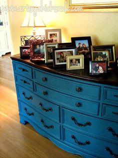 Aubusson Blue Dresser artsychicksrule.com