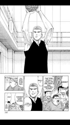 A real basketball player form Slam Dunk Manga, Big Love, Basketball Players, His Eyes, Comics, Illustration, Art, Art Background, Kunst