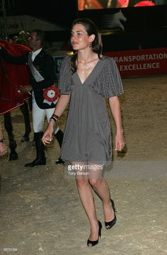 Charlotte Casiraghi attends the International Jumping Show of Monte Carlo at Port Hercule on June 27, 2009 in Monte Carlo, Monaco.