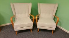 A Pair Of Howard Keith Bambino Chairs | From a unique collection of antique and modern chairs at https://www.1stdibs.com/furniture/seating/chairs/