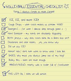 Volleyball - What's on your list? http://fb.com/moltenus