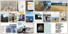 Project life- scrapbooking a holiday