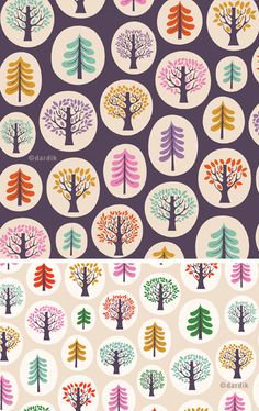 Helen Dardik tree pattern fabric