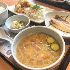 お昼はサラサラ冷汁定食ですよ() by nps2001