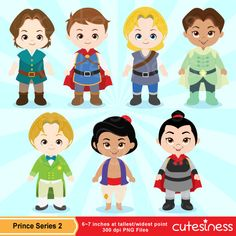Prince Digital Clipart Prince Clipart Cute Prince by Cutesiness