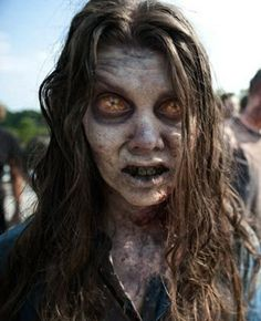 Now THAT is some zombie makeup, Im tellin ya. From The Walking Dead, Season Two via Hookshauntedhollo.... sfx special effects #specialfx #specialeffects makeup #face effects #unwoundfx
