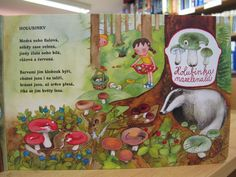 pojdte-s-nami-na-houby_in_4 Cover, Plants, Books, Painting, Autumn, School, Libros, Fall Season, Book