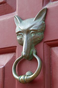Door Knocker at The Red Fox Inn, Middleburg, VA