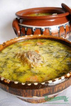 Ciorba de Miel Romania Food, Soup Recipes, Cooking Recipes, European Dishes, Hungarian Recipes, Romanian Recipes, Tasty, Yummy Food, Yummy Yummy