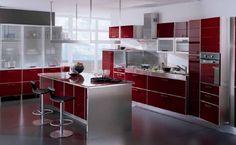 cocinas integrales modernas minimalistas | inspiración de diseño de interiores