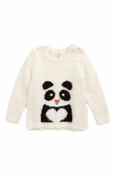 Main Image - Tucker + Tate Icon Eyelash Sweater (Baby Girls)