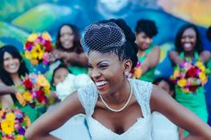 Real Bride: Joy & Caique - Natural Hair Bride