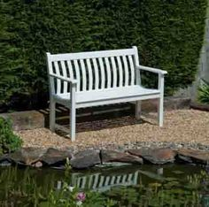 At Hayes Garden World we stock a huge range of quality garden furniture including the Alexander Rose New England Broadfield Bench. Buy online today from Hayes Garden World! Garden Furniture Sale, Furniture Design, Outdoor Furniture, Outdoor Decor, Wild Bird Food, Hardy Plants, Back Gardens, White Paints