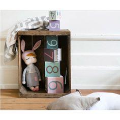 Muñeca personalizable little Bunny gris