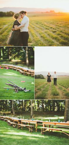 Oregon Vow Renewal from A & B Creative + Paige Jones Photography