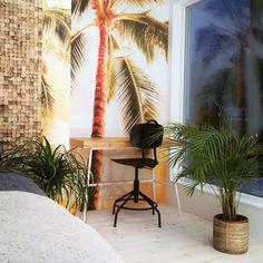 Inspirasjon til soverom - Kokosvegg fra WALL-IT skaper en lun stemning på soverommet Candles, Interior, Wall, Home, House, Design Interiors, Candy, Interiors, Homes