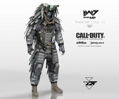 I've already spoken a little of my love for this game's art design, but today I'm going to showcase a much wider range of work from a team of artists who worked on Call of Duty: Infinite Warfare. Cod Infinite Warfare, Call Of Duty Infinite, Infinity Ward, Armor Clothing, Futuristic Armour, Advanced Warfare, Cool Robots, Future Soldier, Tac Gear