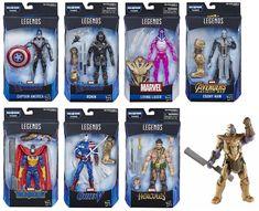 "Marvel Legends Avengers 6/"" Proxima Midnight Thanos BAF infinity war NEUF"